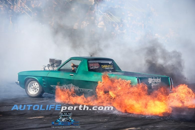 Ultimate burnout challenge Perth 2018